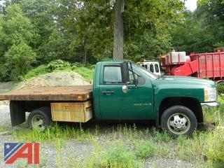 2008 Chevy Silverado 3500 Heavy Duty Flatbed Truck