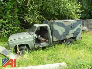 1987 Chevy D30 Military Truck with Utility Body (Parts Only)