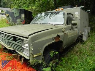 1986 Chevy D30 Military Truck with Utility Body (Parts Only)