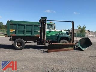 1995 Ford L9000 Dump Truck with Plow