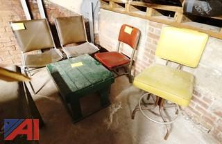 Surplus Chairs & Stand