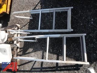 Aluminum Ladders for Water Raft
