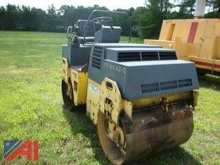 (#1558) 1996 Bomag BW100AD Vibratory Double Drum Roller