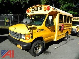 (#37) 2006 Ford/Corbeil E350 Super Duty Mini School Bus