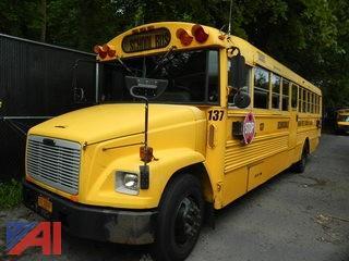 (#137) 2001 Freightliner/Thomas FS65 School Bus