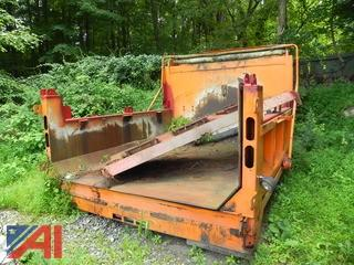 2005 Tenco 5 Yard Dump Body with Sander