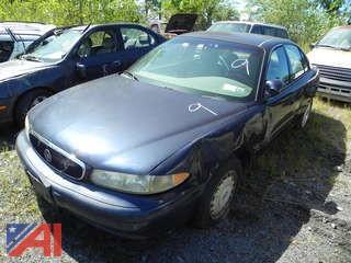 (#9) 2000 Buick Century 4 Door
