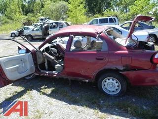 (#13) 1999 Kia Sephia 4 Door
