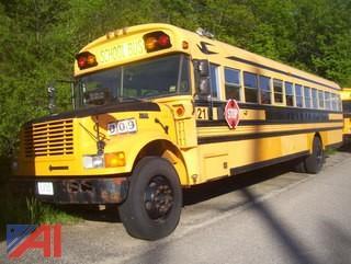 2001 International 3800 Blue Bird School Bus