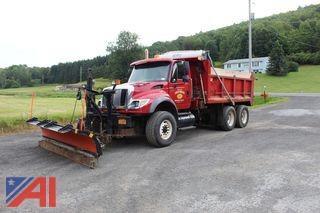 2007 International 7600 6x4 Dump Truck & Plows