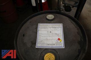Drum of Road King Green Premix Antifreeze