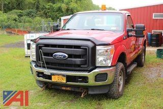 2011 Ford F250 XL Super Duty Pickup Truck & Plow