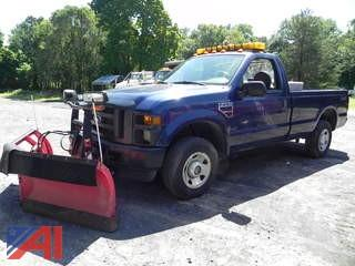 (#6) 2008 Ford F250 XL Super Duty Pickup Truck with Plow