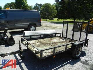 2007 Carry 5' x 8' Trailer with Ramp