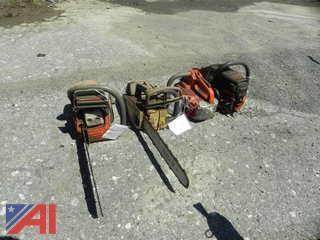 Stihl MS192TC and Husqvarna 445 Chainsaws