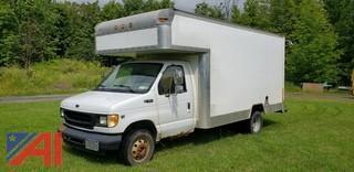 2002 Ford E450 Box Truck