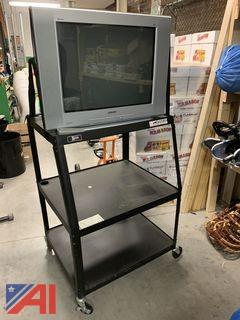 TVs and Rolling Stands