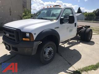 2006 Ford F550 Cab and Chassis