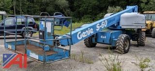2000 Genie S-60 Manlift