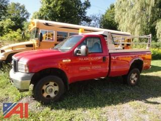*Lot Updated* 2006 Ford F350 XL Super Duty Dump Truck with Plow