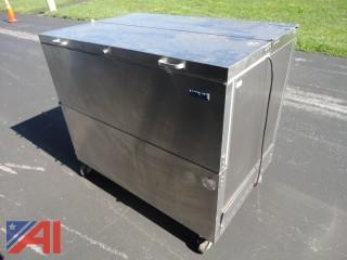 Stainless Steel Nor-Lake Mobile Cooler