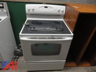 Maytag Glass Top Kitchen Stove