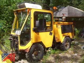 2007 Trackless Series V MT5T Sidewalk Tractor