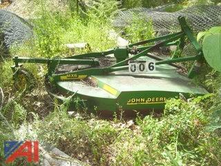 John Deere MX6 Mower Deck