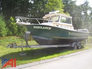 2006 Steiger Craft 26 Chesapeake Ocean Series Boat with Venture Aluminum Trailer