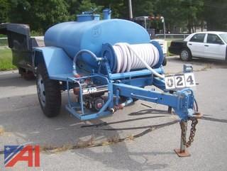 Water Buffalo with 600 Gallon Aluminum Tank