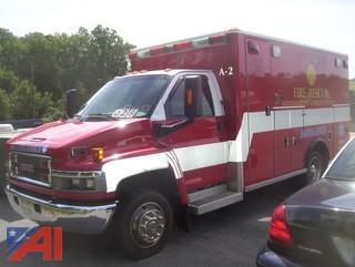 2004 GMC C4V042 Wheeled Coach Ambulance