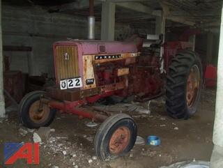 1965 International Farmall F706 Row Crop Tractor