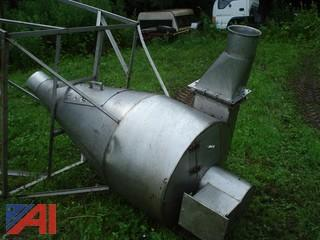 Stainless Steel Elevated Hopper/Bin