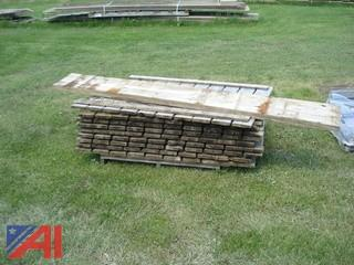 Dock Sections and Laminated Veneer Lumber
