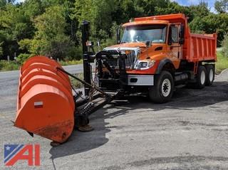 2007 International Work Star 7600 Dump Truck & Plows