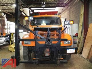 1994 International 4900 Dump Truck with Plow, Wing and Sander