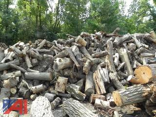 Large Pile of Hard Wood