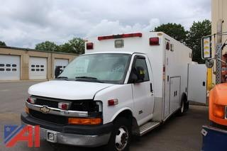2012 Chevy Express Duramax 4500 Ambulance