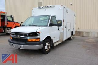 2014 Chevy Express Duramax 4500 Ambulance