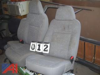 GM Cloth Front Seats
