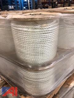 Spools of A&A Line & Wire Corp Nylon Rope