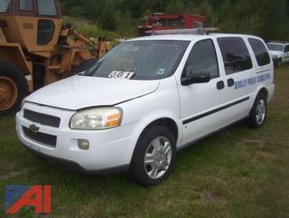 2008 Chevy Uplander Van
