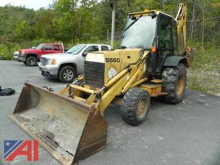 1994 Ford 555D (DF0P1Z) Backhoe with Bucket
