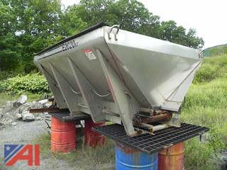 1998 10' Hi-Way Stainless Steel E2020XT-10 Hopper Sander