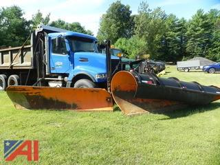 (#10) 2002 Volvo VHD Dump Truck with Plow, Wing and Sander