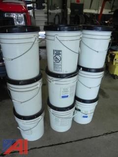 Buckets of Asphalt Filler/Sealer (Coal Tar Emulsion)