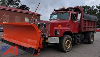 1999 International 2654 Six-Wheel Dump Truck with Plow and Spreader