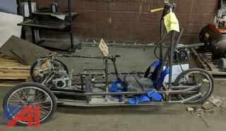 3-Wheel Battery Operated Cart