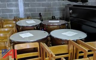Ludwig Copper Kettle Drums