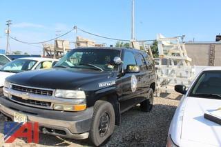 2001 Chevrolet Tahoe Suburban Emergency Vehicle
